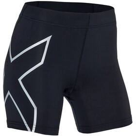"2XU TR2 Compression 5"" Shorts Dame black/silver"